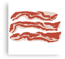 Bring Home the Bacon Canvas Print