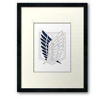 Attack On Titan - Survey Corps  Framed Print