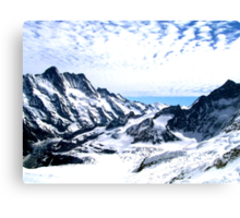 Aletsch Glacier, Switzerland, 2004 Canvas Print