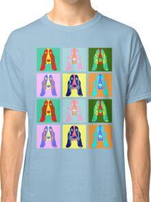 Basset Hound Pop Art Classic T-Shirt