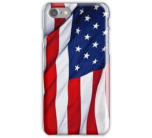 American Flag flying iPhone Case/Skin