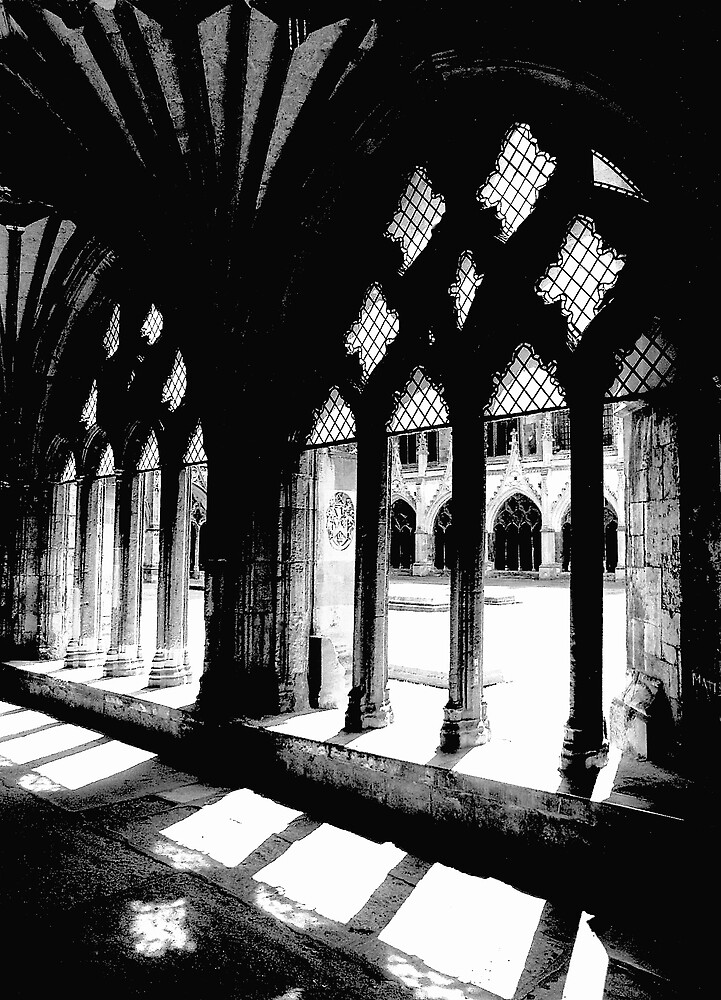 Canterbury Cathedral:Cloisters by kitlew