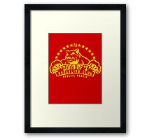Zangief's Wrestling Club Framed Print
