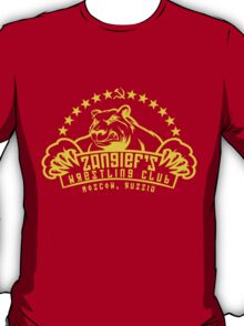 Zangief's Wrestling Club T-Shirt