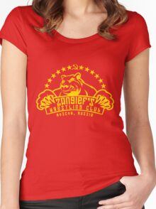 Zangief's Wrestling Club Women's Fitted Scoop T-Shirt