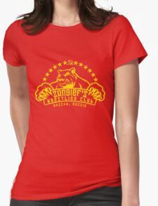 Zangief's Wrestling Club Womens Fitted T-Shirt