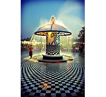 The 2007 Bonnaroo Fountain Photographic Print