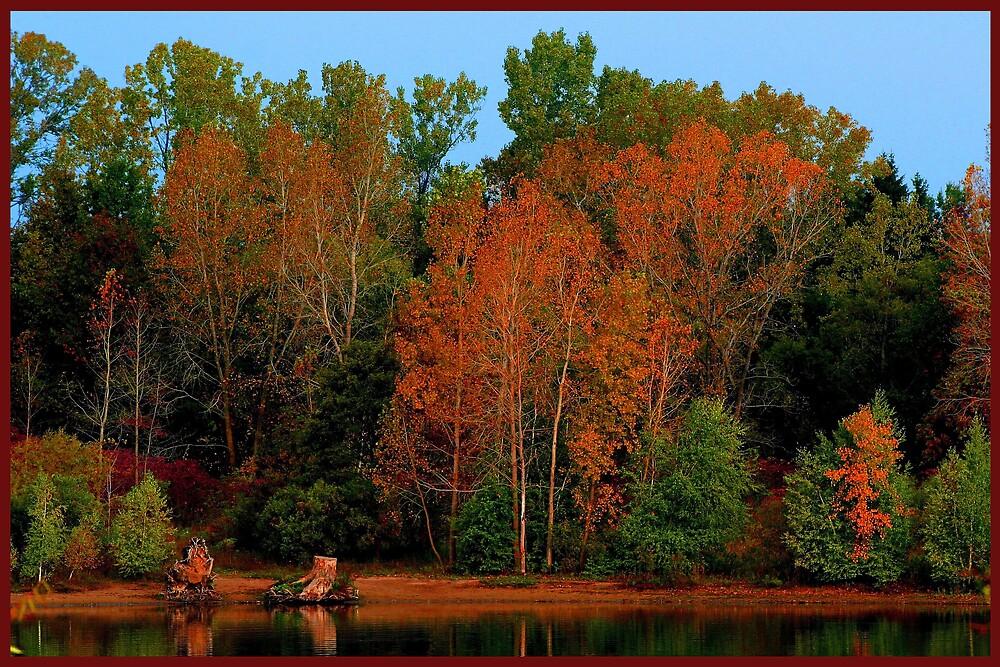 Autumn on Lake Margaret by Cargomom