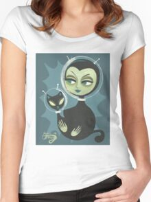 Martian Beauty Women's Fitted Scoop T-Shirt
