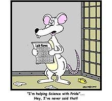 Lab Rat Photographic Print