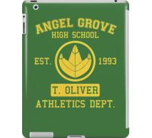 Angel Grove H.S. (Green Ranger Edition) iPad Case/Skin