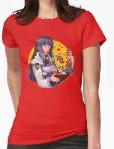 Hinata Hyuuga Womens Fitted T-Shirt