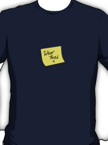 post it note T-Shirt