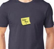 post it note Unisex T-Shirt