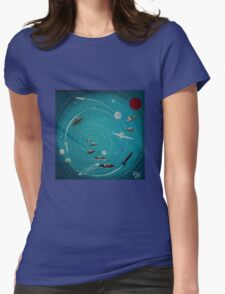 Space Hole 2 Womens Fitted T-Shirt