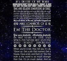 Doctor Who TARDIS Typography by Darth-Sarah