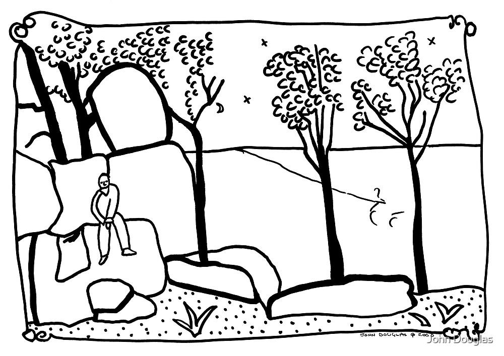 Me on a Rock by John Douglas