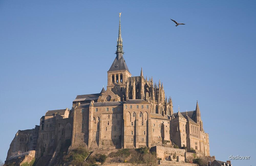 Mont Saint Michel by deslover