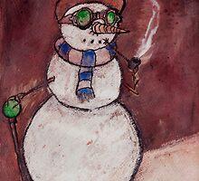 Steampunk Snowman by Glen A. Lewis
