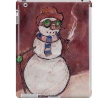 Steampunk Snowman iPad Case/Skin