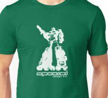 Roller Optimus (white) Unisex T-Shirt