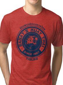 Sagat's Muay Thai Tri-blend T-Shirt