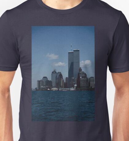 The World Trade Center, Twin Towers,New York Unisex T-Shirt