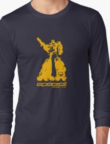 Roller Optimus (yellow) Long Sleeve T-Shirt