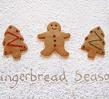 Gingerbread season by Sally Kate Yeoman