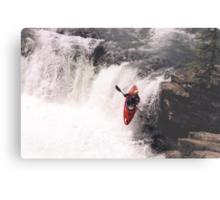 Kayak Leap 1 Metal Print
