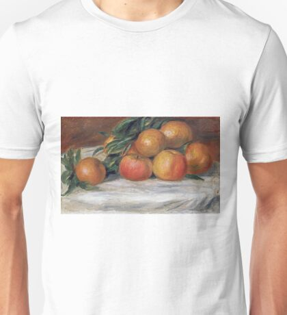 Auguste Renoir - Still Life With Apples And Oranges Unisex T-Shirt