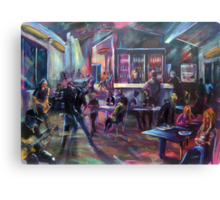 Pop Standen - Beach Break Bar Canvas Print