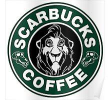 Scarbucks Coffee Poster