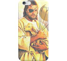 Big Boss and the Lamb iPhone Case/Skin