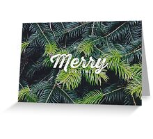 Christmas pine Greeting Card