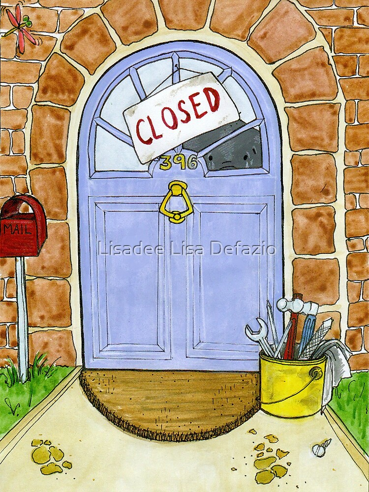 Closed by Lisadee Lisa Defazio