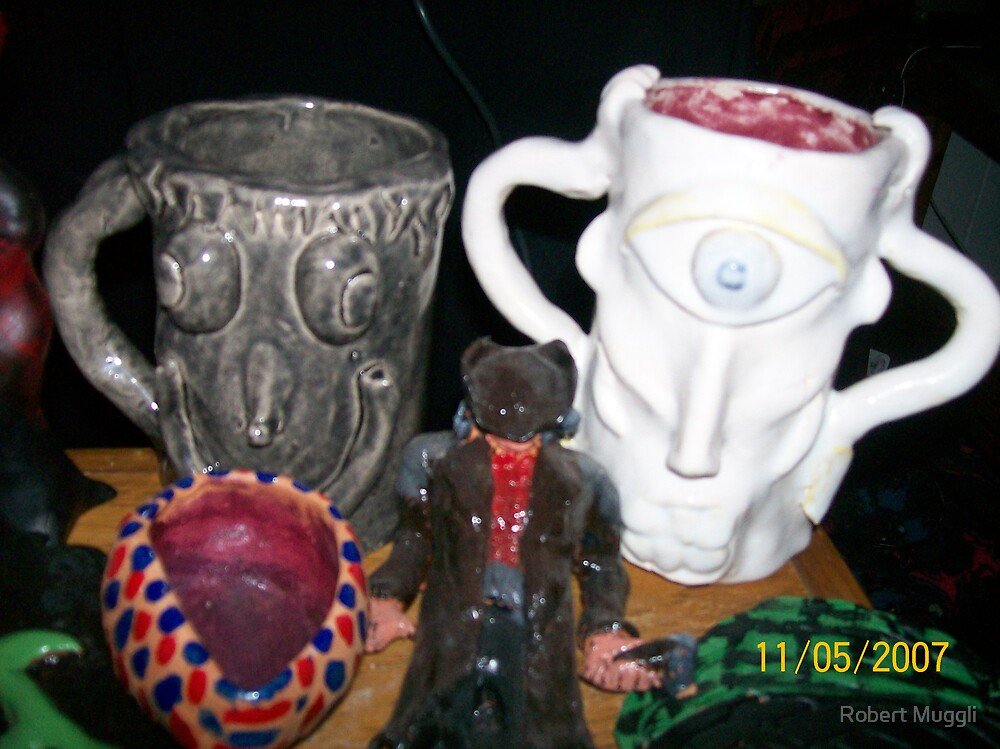 Mugs by Robert Muggli