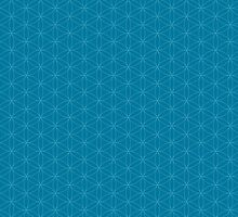 Flower of life seamless pattern by Manafold