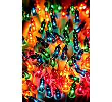 Christmas Colors Photographic Print