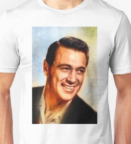 Rock Hudson, Vintage Hollywood Legend Unisex T-Shirt