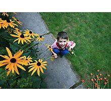 Little Imp, Big Playground Photographic Print