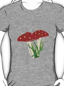 Cute Mini Red Mushrooms  T-Shirt