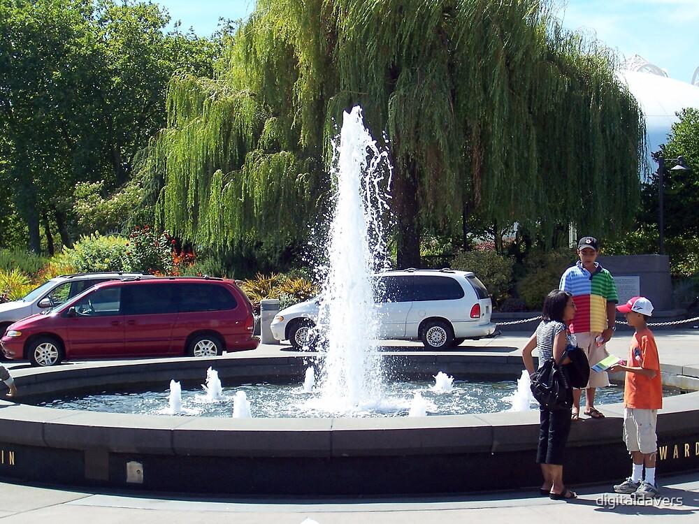 Frozen Fountain by digitaldavers