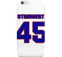National football player Hal Stringert jersey 45 iPhone Case/Skin