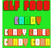 ELF FOOD Photographic Print