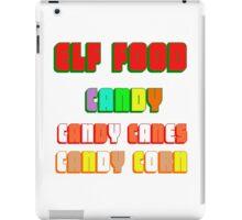 ELF FOOD iPad Case/Skin