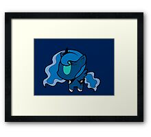 Weeny My Little Pony- Princess Luna Framed Print
