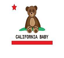CALI BABY Photographic Print