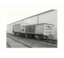 wagons Art Print