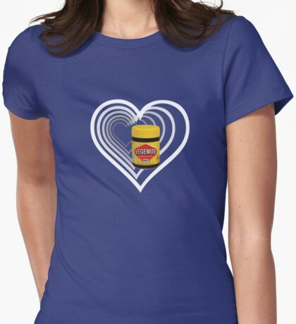 Vegemite Womens Fitted T-Shirt